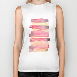 141203 Abstract Watercolor Block 40 Biker Tank