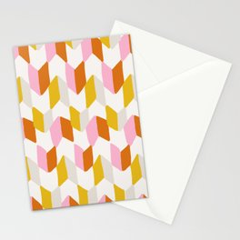 delilah, chevron pattern Stationery Cards