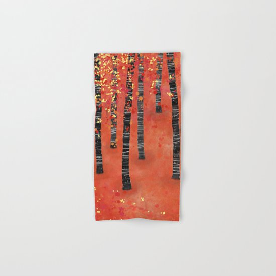 Birches Hand & Bath Towel