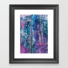 dive deeper Framed Art Print
