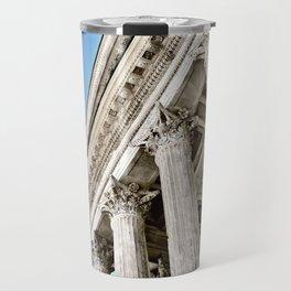 Roman Temple Corinthian Columns Nimes Provence France Travel Mug