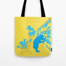 I don't know why she swallowed a fly... Tote Bag