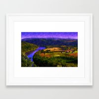 country Framed Art Prints featuring Country by Cullen Rawlins