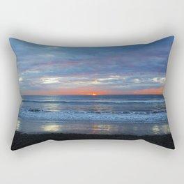 Horizon Glow Rectangular Pillow