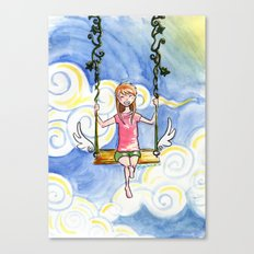 The Sky Swing Canvas Print