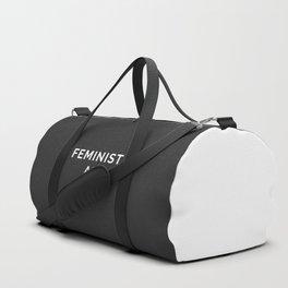 Feminist AF Quote Duffle Bag
