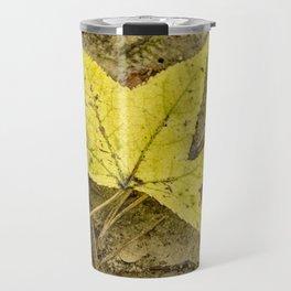 The Yellow Leaf Travel Mug