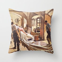 At Tannery Throw Pillow