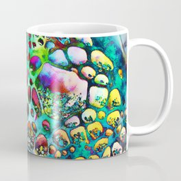 Colored Tafoni 4 Coffee Mug