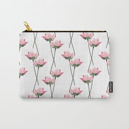 Lotos flower patern Carry-All Pouch