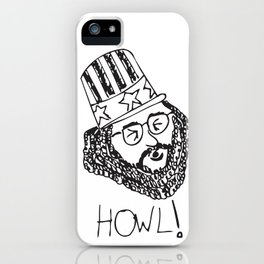 Ginsberg's HOWL iPhone Case