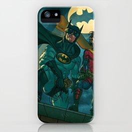 bat man the watch men justice league man of steel iPhone Case