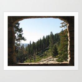 Nature Postcard Art Print
