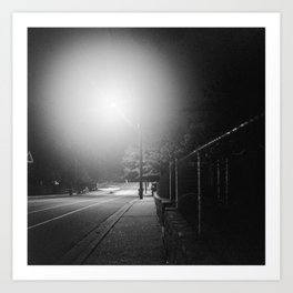 Night Moves 1 Art Print