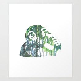 Banksy Chimps Art Print
