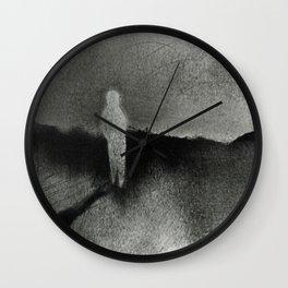 White Walker Wall Clock