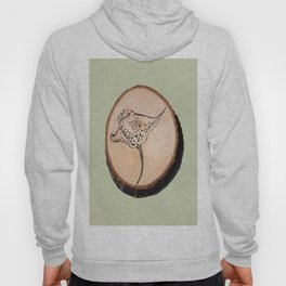 Devil Ray Wood Slice 2 Hoody