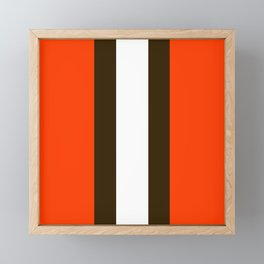 Cleveland Framed Mini Art Print