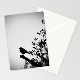 Bird Silhouette Stationery Cards