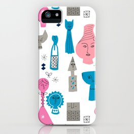 Things with Faces iPhone Case