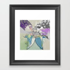 Ghost in the Stone #2 Framed Art Print