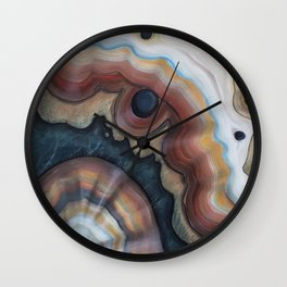 Agate Sharp Wall Clock