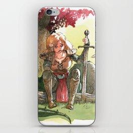 Warrior's rest iPhone Skin