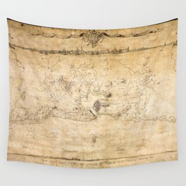 Plan of the Siege of the Havana Surrender (Aug. 12, 1762) Wall Tapestry