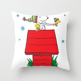 snoopy Throw Pillow