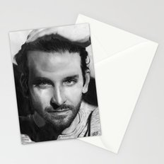 Bradley Cooper Traditional Portrait Print Stationery Cards