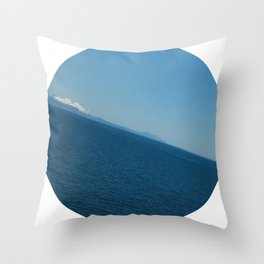 SEASICK Throw Pillow