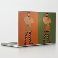 hercules Laptop & iPad Skins featuring Hercules by Young Jake