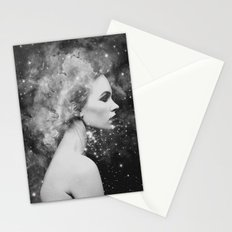 Head in the stars Stationery Cards
