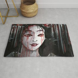 Geisha in Blood: The unwiling Concubine Rug