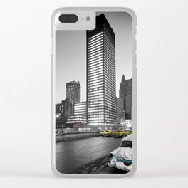 Seagram Building Clear iPhone Case