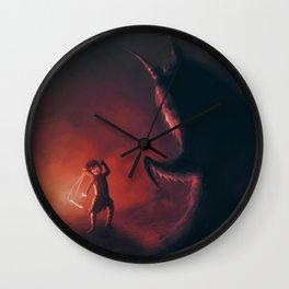 The Warrior Choko Wall Clock