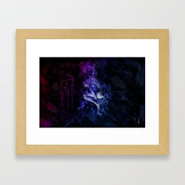 Burnin' Framed Art Print