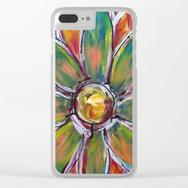 The Miracle of a Single Flower Clear iPhone Case