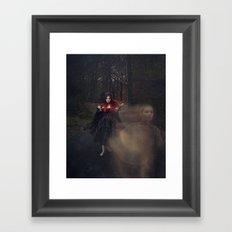 Helplessly Lost Framed Art Print
