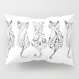 Trio of Cats Pillow Sham