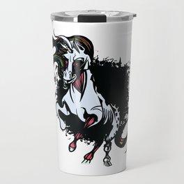 Fantasy Unicorn Dark T Shirt Gift Kids Girls Boys Womens Travel Mug