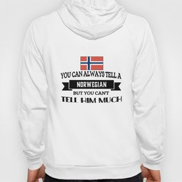 you can always tella norwegian but you cant tell him much norwegian t-shirts Hoody
