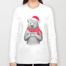 christmas bear #2 Long Sleeve T-shirt