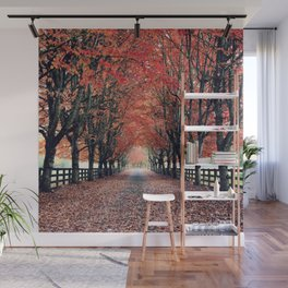 Welcome Home to Fall Wall Mural