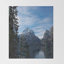 Jenny Lake/Tetons Throw Blanket
