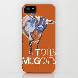 """Totes McGoats!"" ~ Nigerian Dwarf Goat Pop Art Photography!  Gotta Love the Goaty-Woaties! iPhone Case"