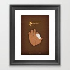 Breaking Bad - Crazy Handful of Nothin' Framed Art Print