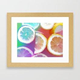 Lemons  Framed Art Print