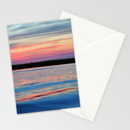Cotton Candy Sunset Stationery Cards