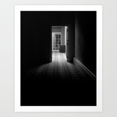 Dark Passage Art Print